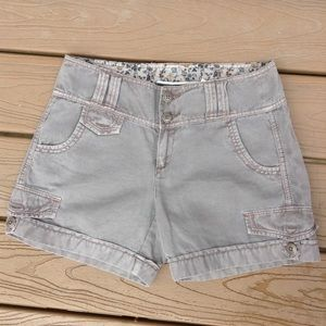 DAUGHTERS OF THE LIBERATION anthro taupe shorts 2